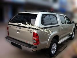 Nắp đậy thấp dành cho xe Toyota Hilux mang cá SCR
