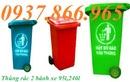 Tp. Hà Nội: thùng rác bệnh viện 220l màu xanh hai bánh xe, thùng rác 20l, túi rác nguy hại RSCL1696592