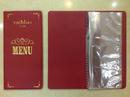 Tp. Hồ Chí Minh: Cơ sở làm menu da, menu nhà hàng, cuốn karaoke bằng da, bile tính tiền bằng da, CL1602288
