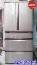 Tp. Hồ Chí Minh: Tủ lạnh nội địa Hitachi R-SF60XM 600 lit, hút chân không ,date 2008 CL1086658