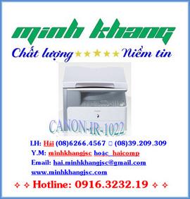 Canon ir-1022: Copy 2 mặt-In 2 mặt-Scan màu, Máy photocopy Canon ir 1022 giá tốt