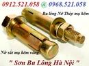 Tp. Hà Nội: Sơn Bolt 0912. 521. 058 bán tắc kê nở thép áo liền, bu lông nở thang máy CL1608412