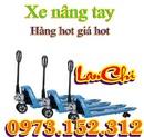 Tp. Hải Phòng: Hàng tốt giá tốt xe nâng tay thấp- gắn cân- mạ kẽm giá hot CL1608412