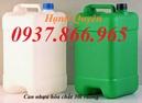 Bắc Giang: can nhựa hóa chất 1,5kg 20l, can nhựa 10l, can nhựa 25l, can nhựa 30l màu xanh CL1608412