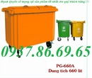 Bắc Ninh: thùng rác, xe thu gom rác thải bằng ton 550l, thùng rác 660l 5 bánh xe RSCL1647290