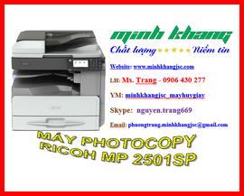 Máy photocopy mini RICOH MP 2501SP giao hàng + lắp đặt +bảo trì miễn phí giá tốt