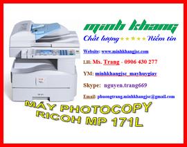 Máy photocopy RICOH MP 171L giao hàng + lắp đặt +bảo trì miễn phí giá tốt nhất