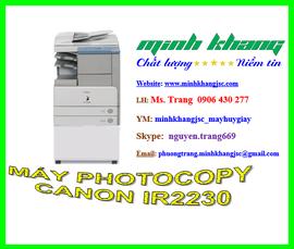 Máy photocopy A3 Canon ir 2230 giao hàng + lắp đặt miễn phí giá chỉ 10 triệu