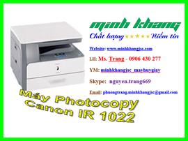Máy photocopy mini Canon ir 1022 lắp đặt + giao hàng+ bảo trì miễn phí giá chỉ 6