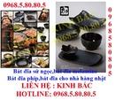 Tp. Hà Nội: Chuyên cung cấp bát đĩa, bát đĩa phíp cho nhà hàng nhật hàn, lẩu nướng BBQ, CL1599736