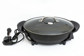 Bếp lẩ̉u nướng điện 2 trong 1, chảo lẩu nướng điện, bếp lẩu điện tốt