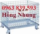 Tp. Hồ Chí Minh: Xe đẩy hàng thép, xe thép công nghiệp, lồng thép lưới giá rẻ. CL1620022