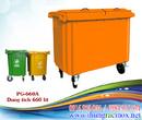 Tp. Hà Nội: thùng rác công cộng 5 bánh xe, thùng rác nhựa composite 660l RSCL1647290