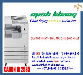 Máy photocopy CANON IR 2535 giá tốt nhất tại Cty Minh Khang