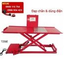 Tp. Hồ Chí Minh: Bàn nâng điện và đạp chân, bàn nâng sửa xe máy bề mặt chống trượt CL1637223