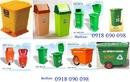 Bình Dương: xe rác, xe gom rác , xe đẩy rác, xe chứa rác 660 lít, xe rác 660 lít 4 bánh xe CL1621865