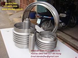 BH24h-khớp nối mềm/ khop gian no/ khớp co giãn/ ống ruột gà lõi thép bọc nhựa