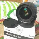 Tp. Hồ Chí Minh: Bán lens Sigma Art 35 f1. 4 Shriro chính hãng (Việt Nam) còn BH 4 tháng CL1661100