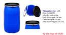 Tp. Đà Nẵng: Thùng phuy nhựa, phuy nhựa 220l, thùng đựng hóa chất , chất lỏng CL1638366P3