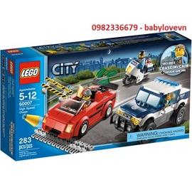 Đồ chơi Lego City 60007 Đuổi bắt tốc độ – km giảm giá