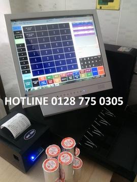 Máy tính tiền cảm ứng hỗ trợ bán hàng