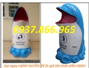 Bắc Ninh: thùng rác con thú nhựa hdpe, thùng rác chim cánh cụt, thùng rác cá heo CL1702753