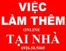 Tp. Hồ Chí Minh: Việc LÀM THÊM sinh viên 2-3h/ ngày Lương 6-9tr/ tháng tại HCM RSCL1592473