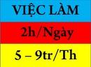 Tp. Hồ Chí Minh: Tuyển nhân viên làm buổi tối tại nhà 2-3h/ ngày lương từ 7-9triệu 1 tháng CL1583689
