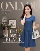 Tp. Hồ Chí Minh: Đầm thời trang nữ, Đầm Jean XV645 CL1639099