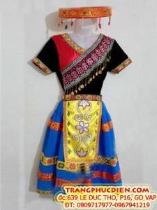 Thuê trang phục dân tộc Mèo,Dao,Thái đẹp,rẻ nhất Gò Vấp,Q.12