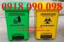 Tp. Hồ Chí Minh: xe đựng rác y tế, thùng rác y tế 15 lít, thùng đựng rác thải nguy hại 15 lít CL1636621