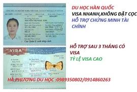 tuyển sinh du học nghề tại hàn quốc ,chỉ thu tiền khi có visa