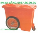 Tp. Hà Nội: thùng rác các loại ,thùng rác 60lit 4 bánh xe, xe gom rác bằng tôn RSCL1647290