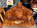 Tp. Hồ Chí Minh: Phật Di Lặc bằng gỗ mít (PL616) CL1661853P8