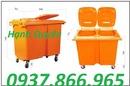 Ninh Bình: thùng rác công cộng 600lit, xe gom rác 400lit, thùng rác giá rẻ RSCL1647290