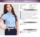 Tp. Hồ Chí Minh: Áo sơ mi nữ tay ngắn mã XV999 liên hệ mua ngay nào! CL1007478P6