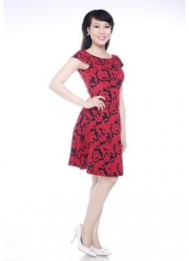 Đầm xòe Ladies - Mã SP: F1010