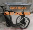 Bắc Ninh: thùng rác 600lit, xe gom rác 500lit, thùng rác 95lit giá tốt RSCL1647290