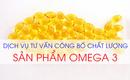 Tp. Hồ Chí Minh: Công Bố Chất Lượng Sản Phẩm Bổ Sung Omega 3 CL1657509