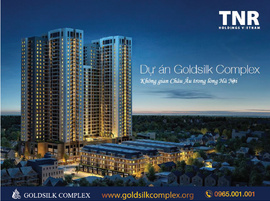 Chỉ 400tr sở hữu CH cao cấp - Goldsilk Complex, CK 10,5%, LH: 0947670943