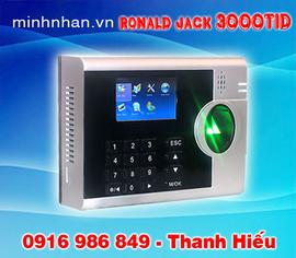 máy chấm công vân tay Ronald jack 3000TID-C