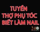 Tp. Hồ Chí Minh: Tuyển Thợ Phụ Tóc Biết Làm Móng CL1650049P9