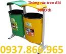 Tp. Hà Nội: xe gom rác 400lit giá rẻ, xe rác đâỷ tay 500lit, thùng rac nhựa composite 600lit CL1682506P20