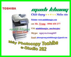 Máy photocopy Toshiba e-Studio 282, bán toshiba 282 mới 92% giá rẻ nhất