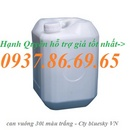 Tp. Hải Phòng: can nhựa đựng hóa chất 20lit, can nhựa cũ 20lit màu xanh hà nội CL1645951P8