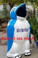 Tp. Hồ Chí Minh: Chuyên cung cấpThùng rác hình con thú, thùng rác chim cánh cụt, thùng rác cá heo CL1645951P8