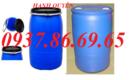 Hà Nam: thùng phuy sắt cũ 200lit giá rẻ, thùng phuy nhựa 120lit đai sắt CL1651416
