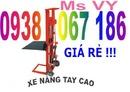 Tp. Hồ Chí Minh: Xe nâng tay cao kéo hàng, xe nâng tay cao, xe nâng tay cao 1 tấn, xe nâng tay 2m RSCL1645951