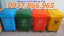 Lạng Sơn: thùng rác bệnh viện, túi rác thải tái chế, hộp kim tiem màu vàng RSCL1696592