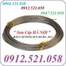 Tp. Hà Nội: Dây cáp Inox 304 bán rẻ tại Hà Nội 0913. 521. 058 cáp lụa, cáp vải cẩu CL1645849